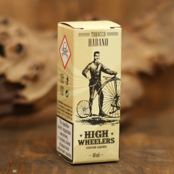 High Wheelers Tobacco Habano 10ml