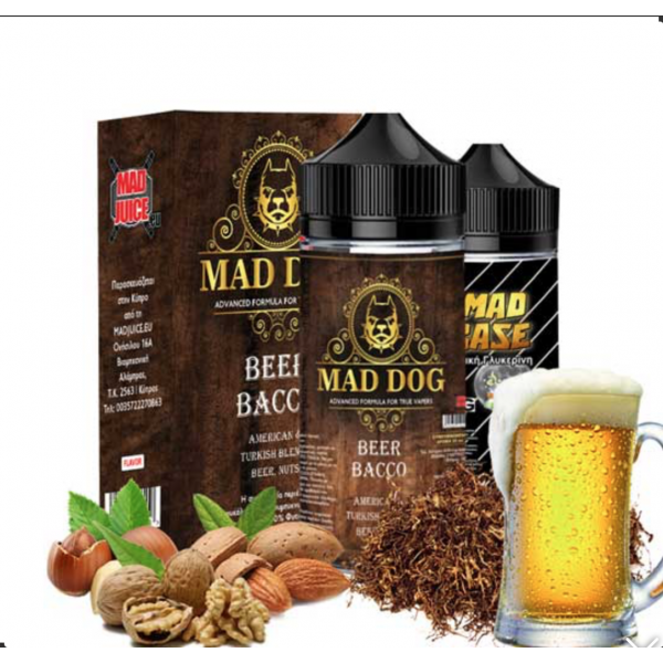 Mad Juice - Beer Bacco 20ml/100ml bottle flavor
