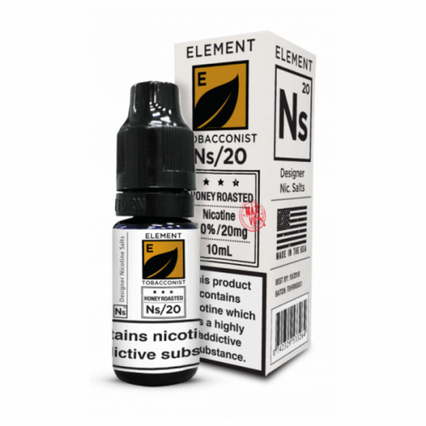 Element Honey Roasted Tobacco Nic Salt 20mg