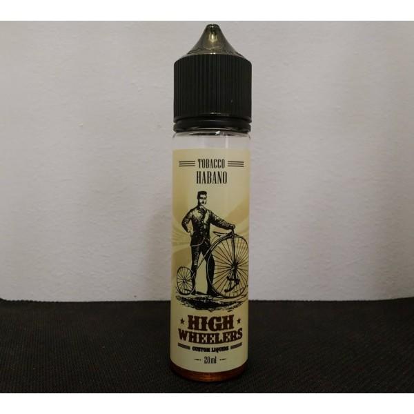 High Wheelers Flavor Shots – Tobacco Habano