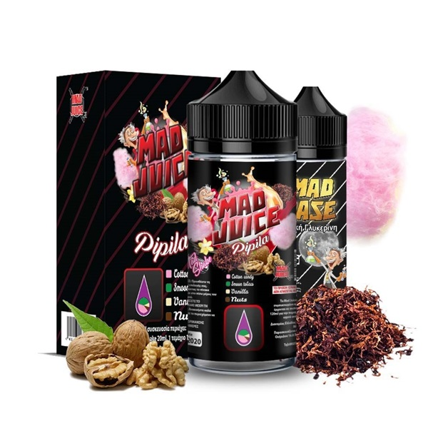 Mad Juice - Pipila 20ml/100ml bottle flavor
