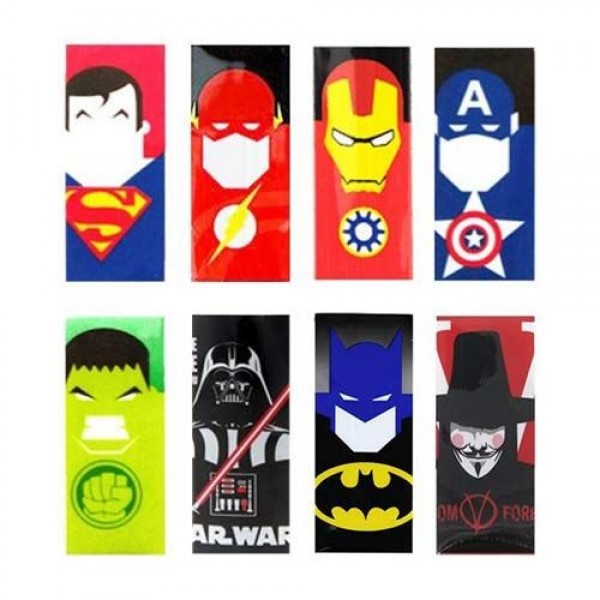 Battery Wrap Super Heroes